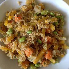 Quinoa, citronnelle, potiron, pois et lait de coco #recipe #vegan #végétarien #quinoa http://www.closeupfactory.com/article-recette-vegan-quinoa-citronnelle-lait-de-coco-122225615.html