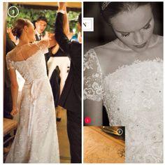 Kate Bosworth wedding, wearing Oscar de la Renta....beautiful