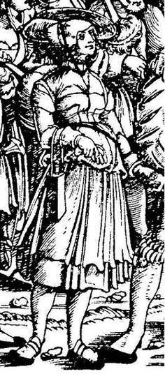 1532 Edhard Schoen -  Army Train Detail The German single-leaf woodcut, 1500-1550, Max Geisberg ; rev. and edited by Walter L. Strauss, New York : Hacker Art Books, 1974.
