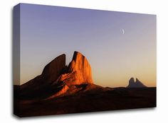 Monument Valley Moon landscape canvas from only £19.99 at Infusion Art http://www.infusionart.co.uk/products/Monument-Valley-Moon-259557.aspx