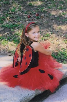Cute Tutu Halloween Costumes from Love Bugg Boutique.  Head over to check out!