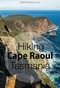 Cape Raoul is a promontory on the southern end of the Tasman Peninsula in Tasmania, Australia. To get here, it is a 14 km round trip hike, most of it through forests and along coastal cliffs.