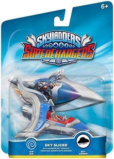 Skylanders SuperChargers: Vehicle Sky Slicer Character Pack #Skylanders #SuperChargers #SkySlicer #toys #collectibles
