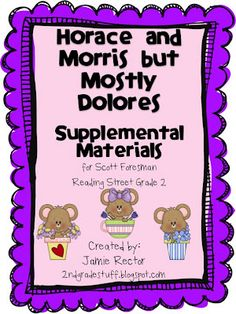 2nd Grade Stuff: reading street
