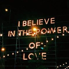 """I believe in the power of love"" ❤️ #loversanddriftersclub"