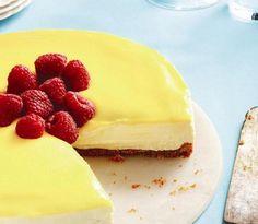 No-bake lemon mascarpone cheesecake