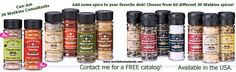 Did you know JR Watkins carries over 60+ spices!! Add some flavor to your recipes.