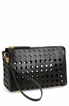 Marni Cutout Leather Clutch available at #Nordstrom $690