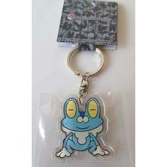 Pokemon Center 2013 Froakie Character Keychain