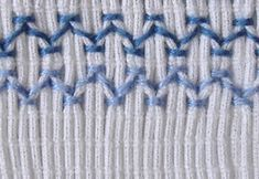 Smocking : Learn the technique, tips and advices. Discover of arts and crafts tutorials and patterns on Bulb in Blue, the site for creative ideas. Craft How tos: smocking Smocking Baby, Smocking Plates, Smocking Patterns, Sewing Patterns Free, Sewing Stitches, Embroidery Stitches, Sewing Hacks, Sewing Projects, Textile Manipulation