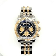 Mens Watches Leather, Watches For Men, Chronograph, Breitling Chronomat, Rolex Watches, Black Gold, Rose Gold, Stainless Steel, Accessories