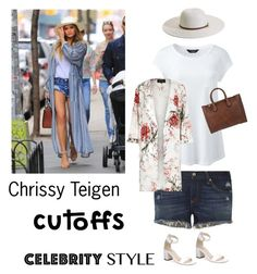 """""""celebrity style/cutoffs"""" by im-karla-with-a-k ❤ liked on Polyvore featuring rag & bone, Lands' End, River Island, Cole Haan, Michael Kors and Melissa Odabash"""