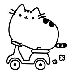 Pusheen Cat Coloring Page Pusheen Coloring Pages Cat Coloring Book
