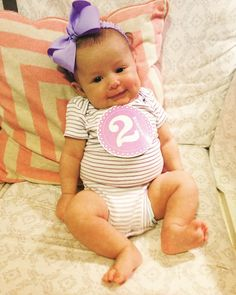 My little Claire Bear  #babyclaire #2monthsold by annacarden