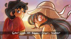 """""""GAH! Look at kawaii~chan's shippppp!""""  Madiline: omf its so cuteeeeee"""