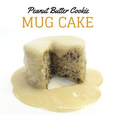 Here's my yummy mug cake recipe! It's only 238 calories and ready in 2 minutes! http://drsarasolomon.com/peanut-butter-cookie-mug-cake/