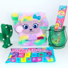 Smiggle Pop Out Pencil Case Scented Pencils Slime Goo