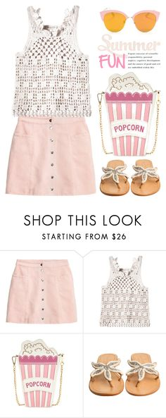 """""""Summer Fun (tfp) 1774"""" by boxthoughts ❤ liked on Polyvore featuring Rebecca Taylor, ASPIGA and tfp"""