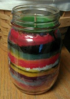 Recycle Scentsy wax into a jar with a wick for emergency candles.  http://triciafisher.scentsy.us