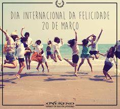 Arte criada para marca Overend da franquia de Belém. Postado nas redes sociais da marca (facebook e Instagram) para comemorar o dia internacional da felicidade.