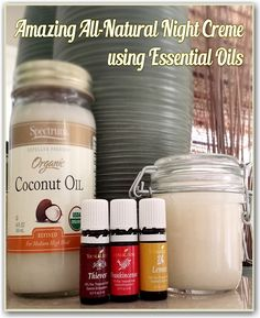 Amazing All-Natural Night Cream Using Essential Oils! #beauty #essentialoils #youngliving