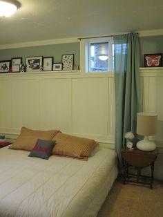 Small Basement Bedroom May 2011