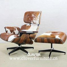 charles eames lounge chair cowhide