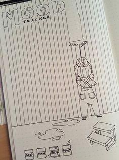 Easy Bullet Journal, So gestalten Sie das kreative Leben kreativ - Tricot Easy Bullet Journal, How to design creative life creatively Projects Bullet Journal Tracker, Bullet Journal 2019, Bullet Journal Notebook, Bullet Journal Spread, Bullet Journal Inspo, Bullet Journal Ideas Pages, Bullet Journal Layout, Journal Pages, Bullet Journals