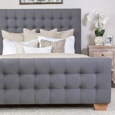 Armand Tufted Bed
