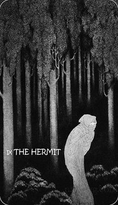 The Hermit - tarot of sidney sime