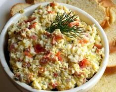 Smoked Salmon and Dill Egg Salad Recipe