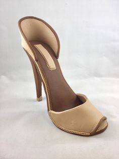 Fondant High Heel Shoe/ Cake Topper by SweetCakeFetish on Etsy