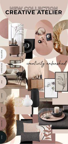 Fall Collections, Logo, Creative, Interior, Design, Atelier, Logos, Indoor