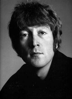 John Lennon by Avedon - handsome and serious looking.