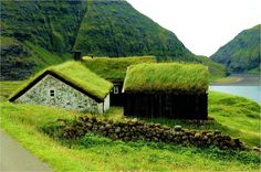Une idée sympa, très nature et un formidable isolant naturel.