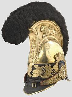 Elmetto della guardia del corpo bavarese, 1814