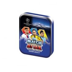 Topps Match Attax Champions League 16/17 Trading Cards Tin