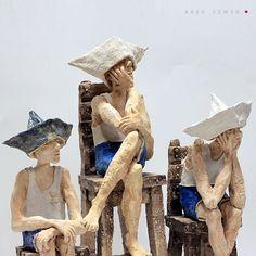 Rzeźby ceramiczne|oryginalna dekoracja|Arek Szwed