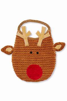 9022407f1d1 Reindeer bib features dimensional ears and antlers