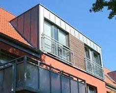 Bildergebnis für dachgaube auf terrasse