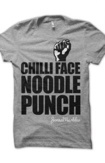 """Jenna Marbles """"Chilli Face Noodle Punch!"""""""