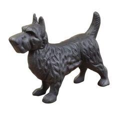 Amazon.com: 7.5 Inch Wide Cast Iron Scottie Dog: Home & Kitchen