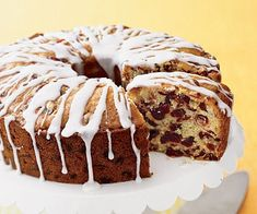 Learn how to make Fresh Orange-Cranberry Pound Cake. MyRecipes has tested recipes and videos to help you be a better cook. Cranberry Pound Cake Recipe, Pound Cake Recipes, My Recipes, Dessert Recipes, Cooking Recipes, Pound Cakes, Citrus Recipes, Greek Recipes, Cup Cakes