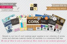 Giveaway Friday: DCWV Paper Stacks