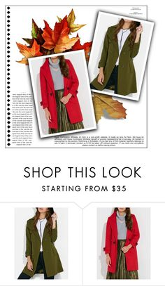 """Coats"" by alinnas ❤ liked on Polyvore featuring Whiteley"