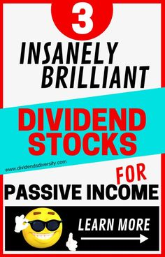 Dividend stocks and dividend investing are great ways to build wealth and passive income. Here are 3 top dividend stocks for beginning investors or experienced investors. Investment Tips, Investment Portfolio, Investment Quotes, Investment Group, Investing Money, Saving Money, Emo, Dividend Investing, Savings Planner