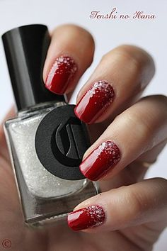 Inspiring Winter Nail Art Designs Ideas For Girls 2013 2014 Fabulous Nail Art Designs Holiday Nail Art, Winter Nail Art, Christmas Nail Art, Winter Nails, Classy Christmas, Christmas Toes, Christmas Holidays, Fancy Nails, Trendy Nails