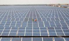 """Résultat de recherche d'images pour """"mega utility scale solar park farm"""" Renewable Energy, Solar Energy, Solar Power, Installation Solaire, Solar Panel Installation, Solar Panels For Home, Best Solar Panels, Solar Projects, Energy Projects"""