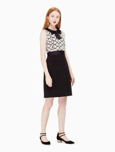 guipure lace sheath dress | Kate Spade New York