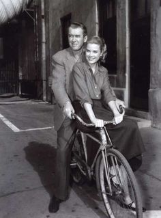 I love both Grace Kelly (absolutely hands down the most beautiful woman in the world) and James Stewart (such a jewel of a man). They were great on the screen together and very old school.